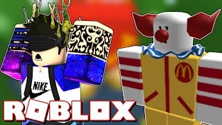 ESCAPING MCDONALDS ? Roblox Escape McDonalds Obby