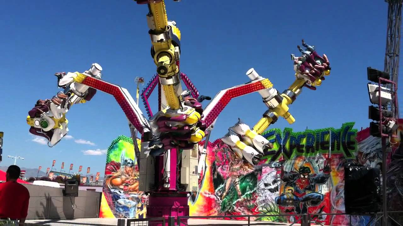 Experience Ride At The La County Fair 2011 Youtube