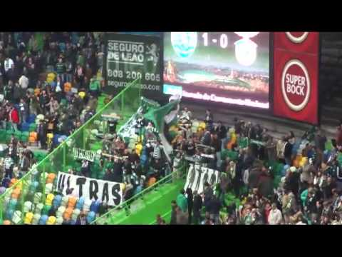 Sporting and Benfica fans (Lisboa derby) // Derby Lizbony (kibice) - [kartofliska.pl]