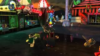 LEGO Batman 2 DC Super Heroes - Unlocking All Villain Characters in Gotham City North (Lex Luthor)