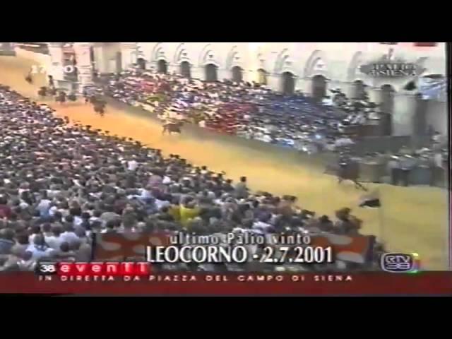 Palio 2 luglio 2001