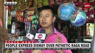 Arunachal pradesh Road problem