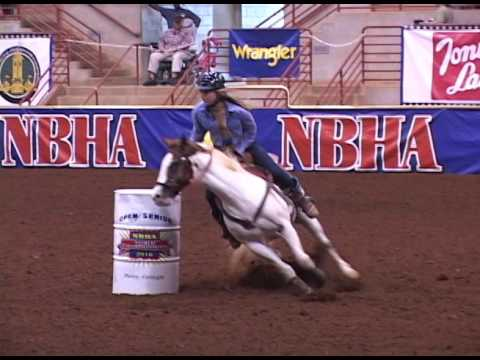2016 NBHA World Championships Open Finals #82 Katherine Effinger