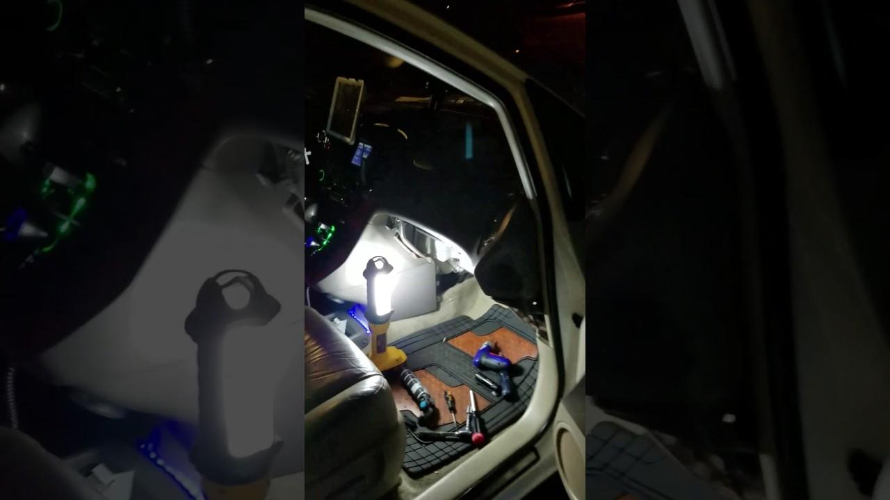 Lexus rx300 2001 air mode door actuator part 2 installation