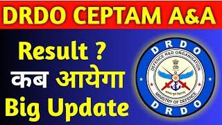 DRDO CEPTAM A&A Result Latest Update | drdo a&a Result | Drdo AA CutOff |DRDO Result| DRDO AA Result