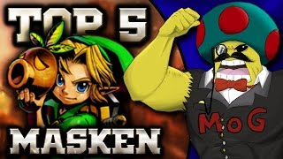 Top 5 - Majoras Mask Masken | MythosOfGaming