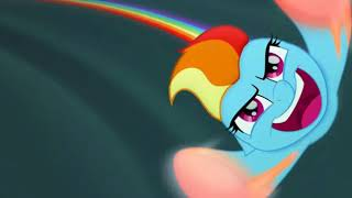 Rainbow Dash,.s sonic Rainboom moment : mlp th movie