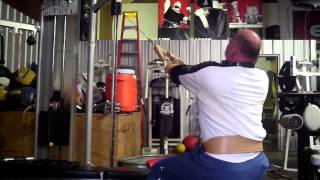 Elitefts.com—dave Tate Takes Control Of Mountain Dog Training: Seated Face Pulls