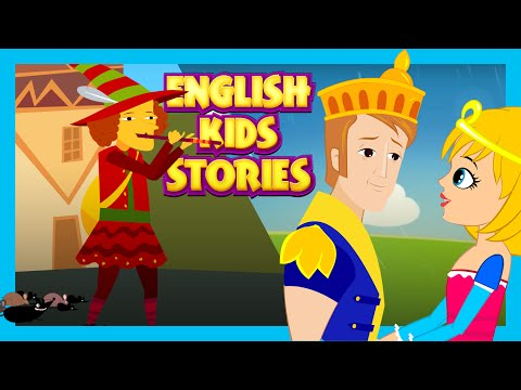 THE SLEEPING BEAUTY AND THE PIED PIPER OF HAMELIN - Fairy Stories | ENGLISH KIDS STORIES