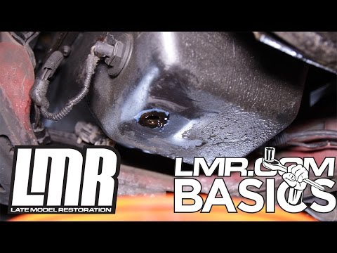 How to Change Engine Oil in a Mustang - LMR Basics