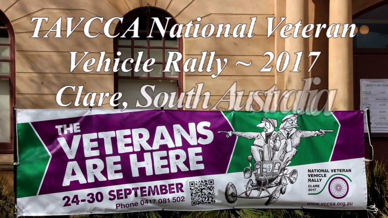 Australian Veteran Car Rally 2017 - Clare - YouTube