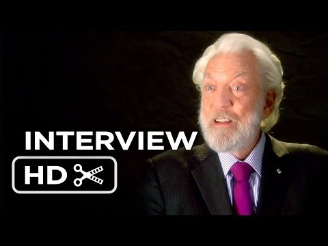 The Hunger Games: Catching Fire - Donald Sutherland Interview (2013) HD