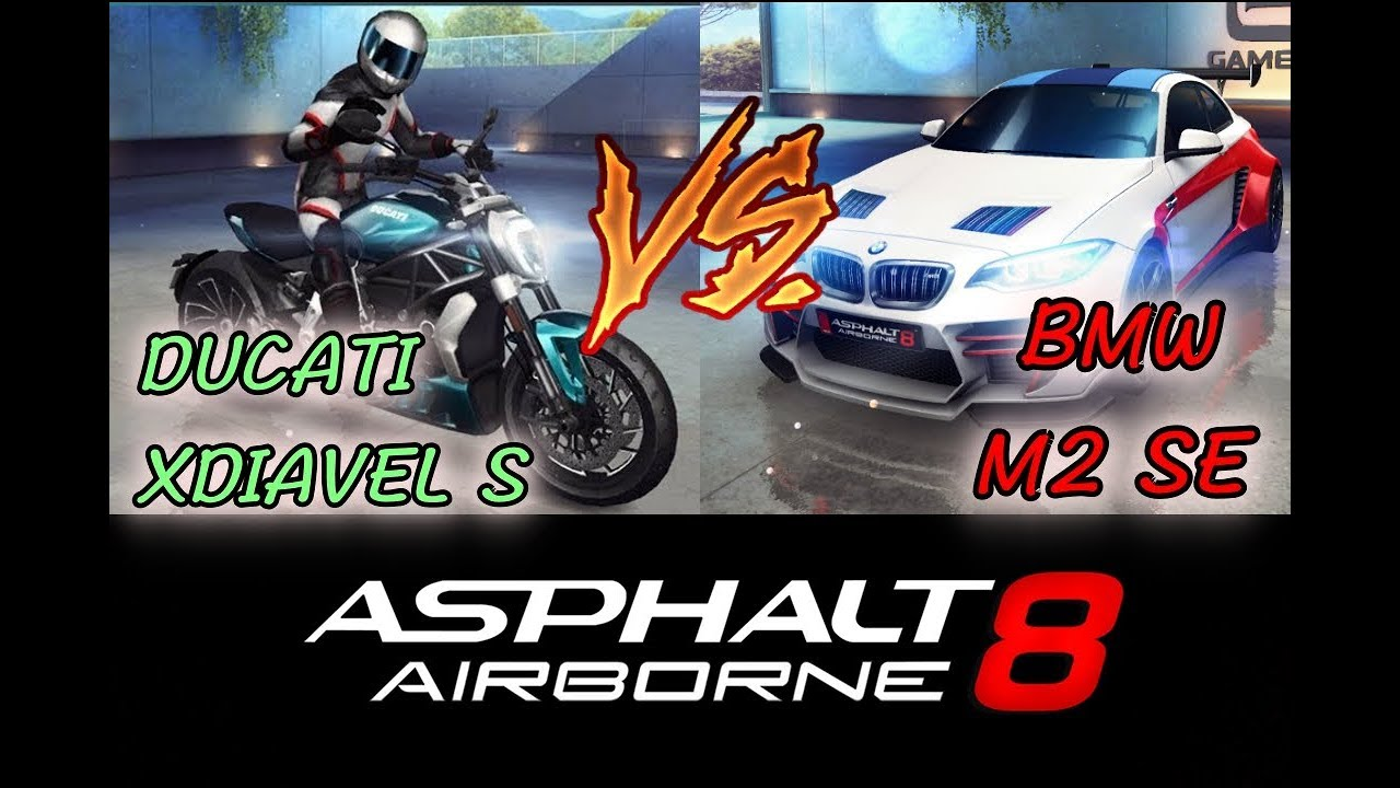Bmw M2 Vs Ducati Xdiavel S Asphalt 8 Youtube