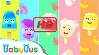 Baby - Yummy Ice Creams   Baby Panda's Ice Pop Truck   Kids Song   BabyBus  ep 426