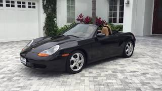 1998 Porsche Boxster Review and Test Drive by Bill - Auto Europa Naples
