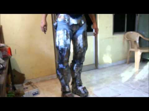 "Iron man Suit Mark VI ( Mark - 6 ) part-4 "" Cod piece "" (Metal)"