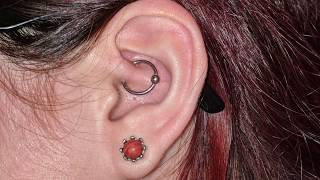 The Most Thorough Guide On Daith Piercing Aftercare! (Healing Update & My Experience)