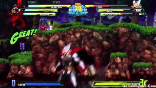 Marvel vs Capcom 3: Fate of Two Worlds (Wolverine, X-23, Deadpool Pt. 1/2)