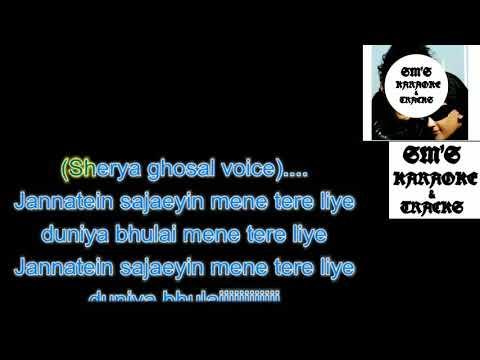 Tere Liye || Karaoke || Track || Instrumental || With Lyrics || Prince || Atif Aslam || HD