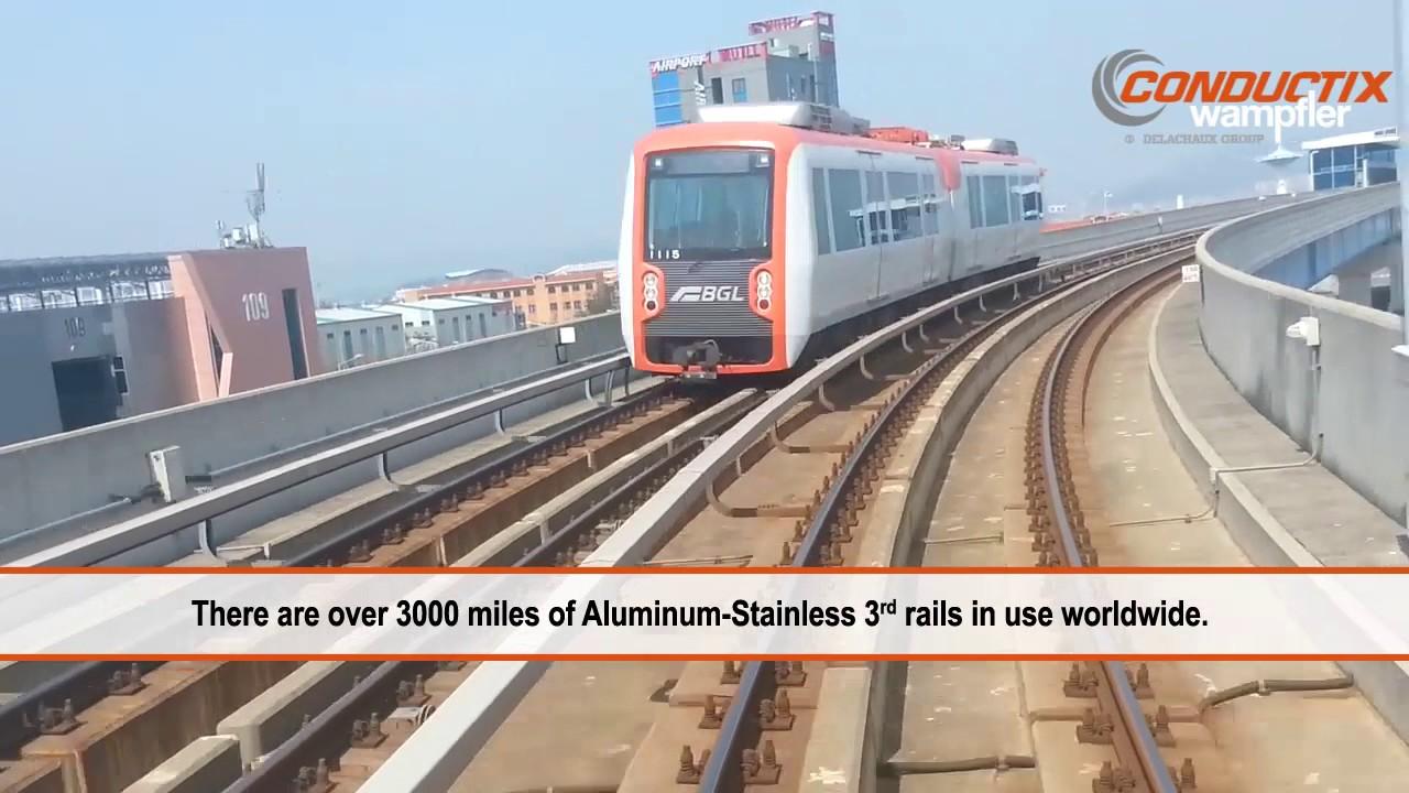 Third Rail Electrification for Mass Transit Systems (3rd Rail Transit)