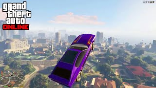 The worst possible spot to land other than a pool. (GTA 5 #shorts)