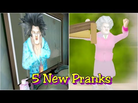 Scary Teacher 3D Version 5.0.41 All New Pranks
