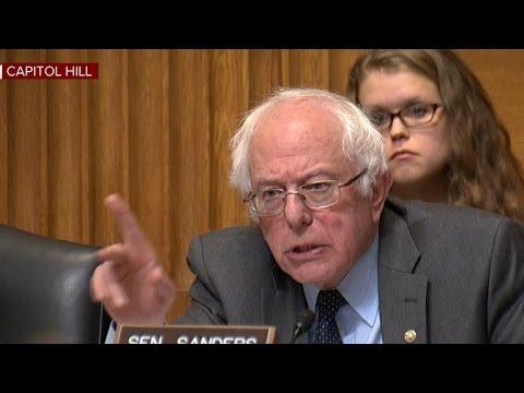Bernie Sanders grills EPA nominee Scott Pruitt on climate change