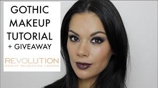 GOTHIC MAKEUP FOR HALLOWEEN | Makeup Revolution