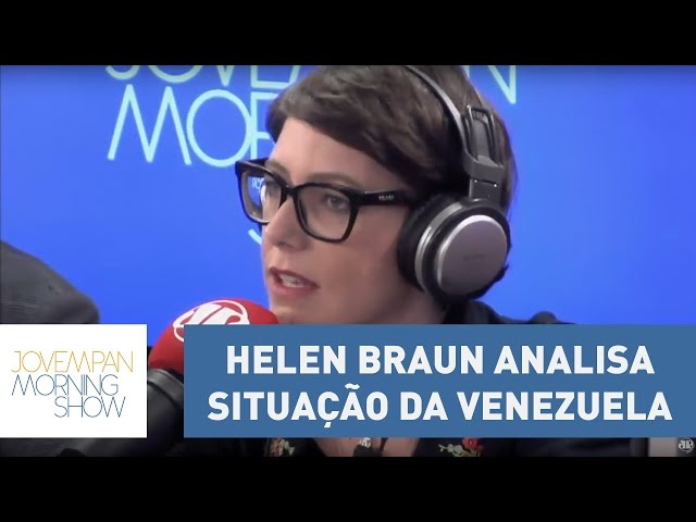Helen Braun analisa situação da Venezuela   Morning Show