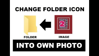 How to Change Folder icon into your Own Photo | Folder Set Image | Change Folder Icon Image