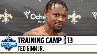 Ted Ginn Jr. | Post-Practice Presser | Practice #13 | 2018 Training Camp