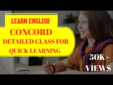 "LD CLERK 2017 :- ""CONCORD"" III ENGLISH GRAMMAR III EASY MARK"