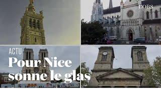 Le glas résonne aux quatre coins de France en hommage aux victimes de l'attentat de Nice