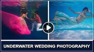 Underwater Pre Wedding Photography | TBG Bridal Store
