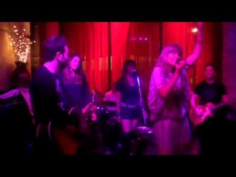 """Zoe Scott sings """"Black Roses"""" at JJ's Song Salon."""