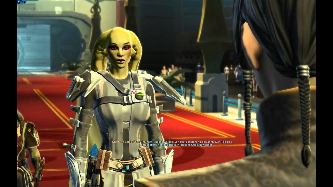 SWTOR - Storyendsequenz des Jedi-Ritters (Spoiler!) - YouTube