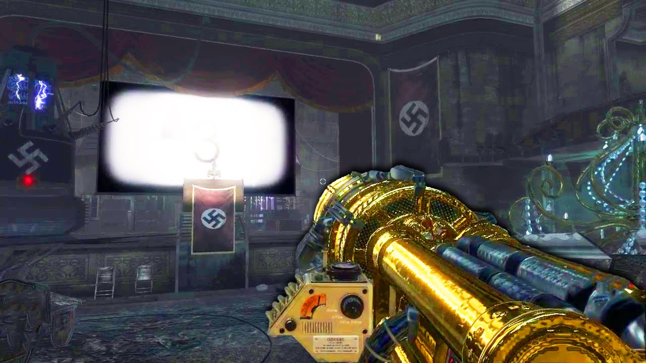 Kino Der Toten Remastered Golden Weapons 8 Perks More Cod