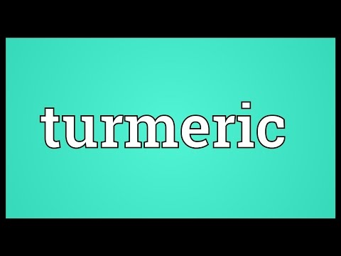 Turmeric Meaning