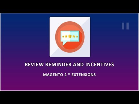 Magento 2 Review Reminder and Incentive