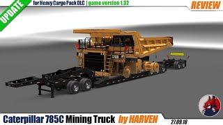 "[""American Truck Simulator"", ""mods"", ""trailer mod"", ""Caterpillar 785C Mining Truck"", ""by Harven""]"
