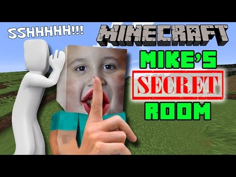 Thumbnail: MIKE'S SECRET ROOM in MINECRAFT: Showcase & Tutorial (PC Gameplay | FGTEEV)
