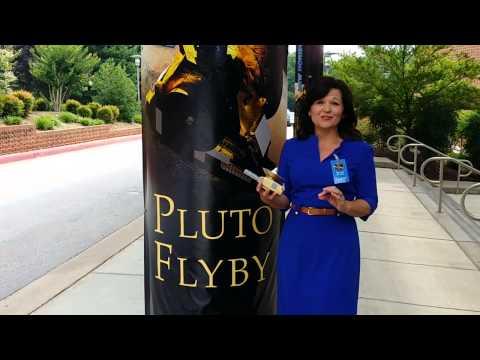 Janet's Planet at #Plutoflyby! #dearpluto