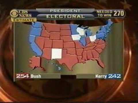 CBS News Election 2004 LONG Break