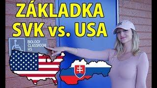 ZÁKLADNÍ škola USA - SLOVENSKO | PŘÍBĚH slovenské studentky