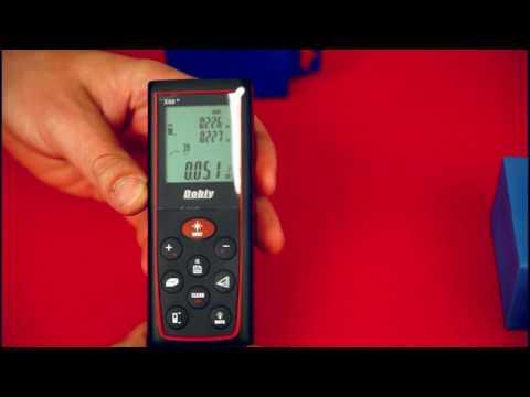 Электронная лазерная рулетка дальномер угломер Dobiy X60 обзор, тест купить в Украине