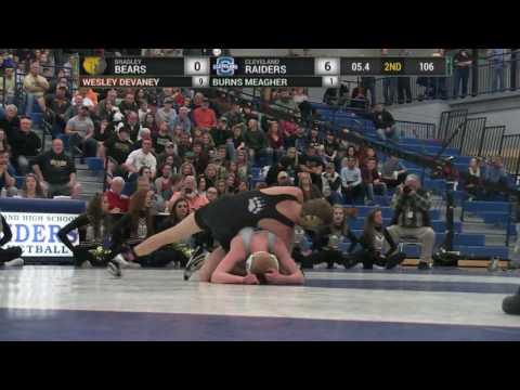 Wrestling Match-Cleveland vs Bradley Central