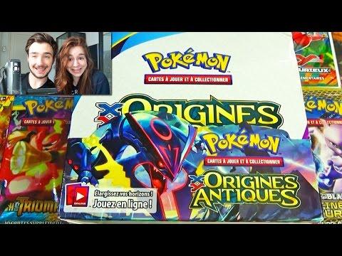 Ouverture d'un Display Pokémon XY Origines Antiques Francais ! BOOSTER XY 7 = FULL ART !