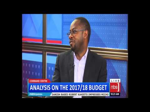 Patrick Katabaazi & Hon. John Eresu on Budget for FY 2017/2018