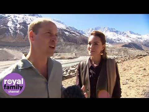Duke and Duchess of Cambridge Speak about Climate Change in Pakistan