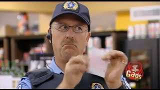 JFL Hidden Camera Pranks & Gags: Lottery Police Officer